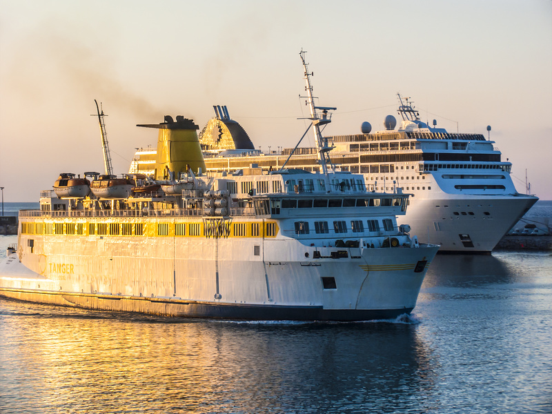 Afrique, Maroc, Tanger - Ferry