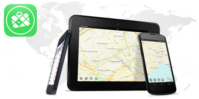 Maps.me, application cartographique smartphone et tablette