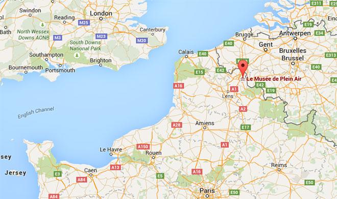Cliquez sur le plan pour afficher la carte Google Map interactive.