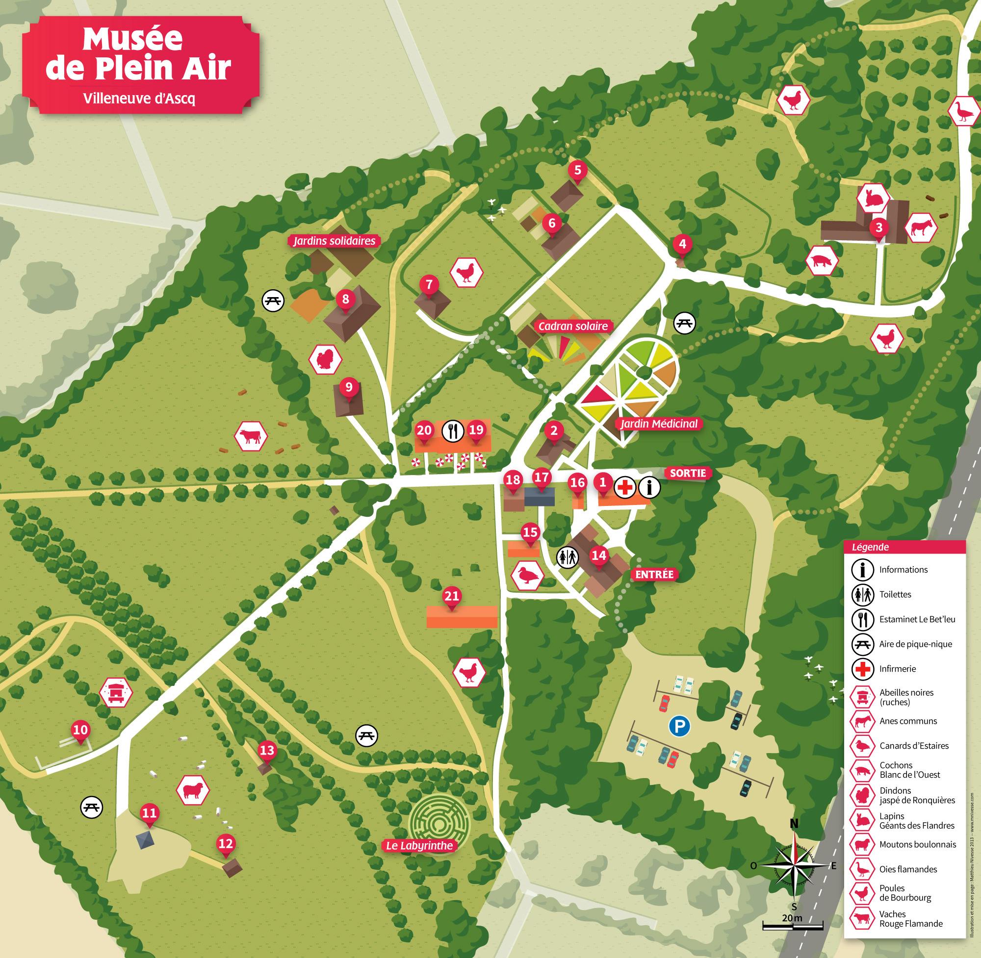 Musee Plein Air Lille Plan