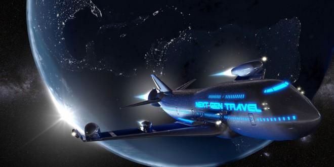Tourisme spatial avion fusée