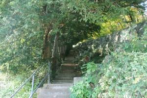 bastille-grenoble-escalier