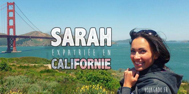 Sarah, expatriée en Californie