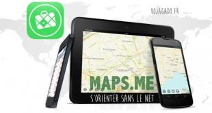 Application Maps.me - mode d'emploi