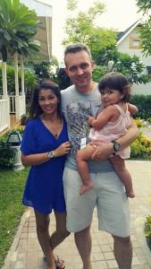 Sylvain en famille