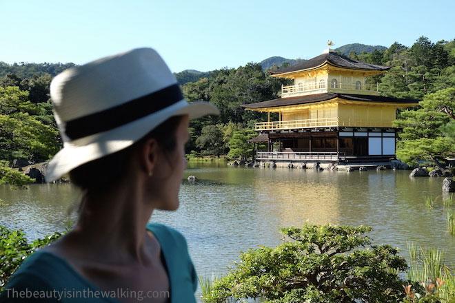 Temple d'or à Kyoto au Japon
