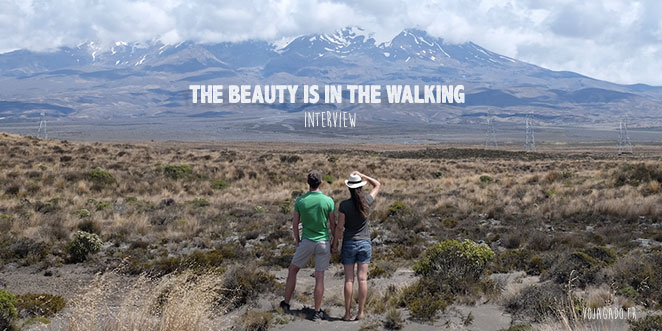 The beautyis in the walking