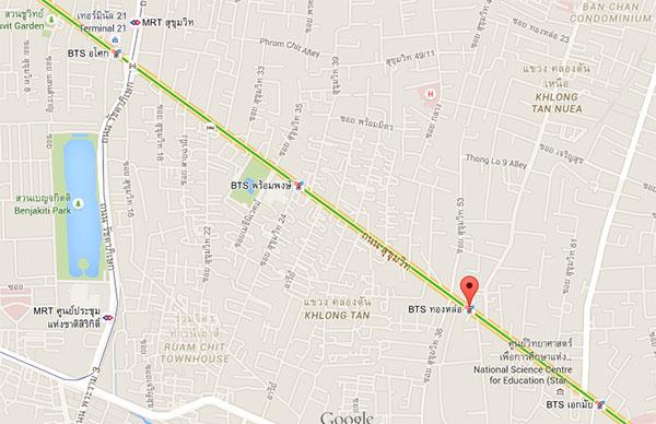 google-map-bangkok-thong-lo