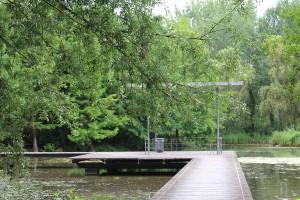 Ponton Parc Saint Pierre Amiens