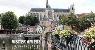 Panorama de la cathédrale à Amiens